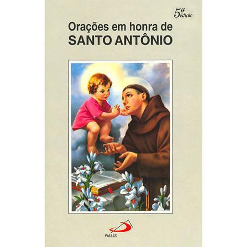 Livro - Orações em Honra de Santo Antônio
