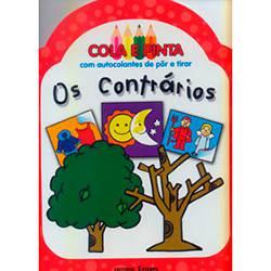 Livro - os Contrários - Cola e Pinta