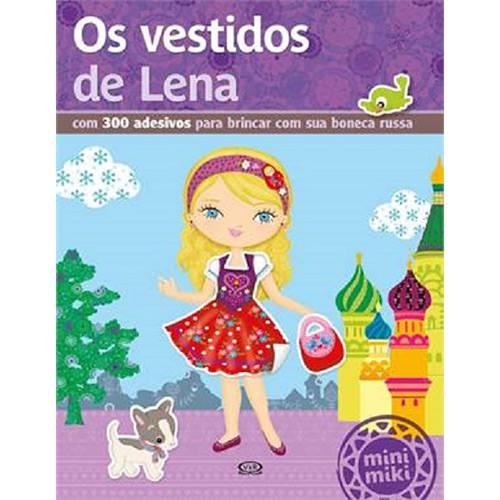 Livro - os Vestidos de Lena - Coleção Minimiki