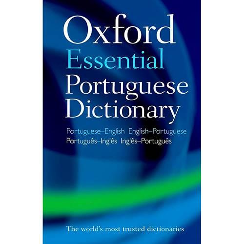 Livro - Oxford Essential Portuguese Dictionary