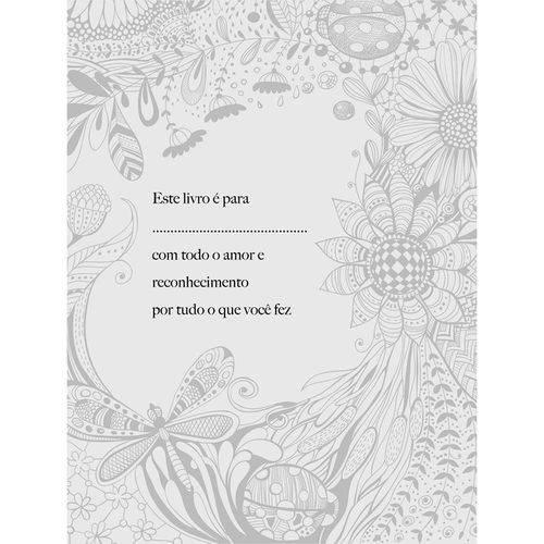Livro para Colorir Adulto Mãe, te Amo com Todas as Cores + Lápis de Cor Acrilex Hexagonal 12 Cores