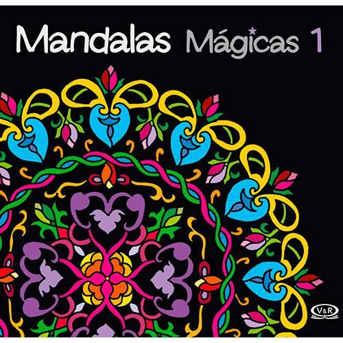 Livro para Colorir Adulto - Mandalas Mágicas Vol. 1 - 1ª Edição