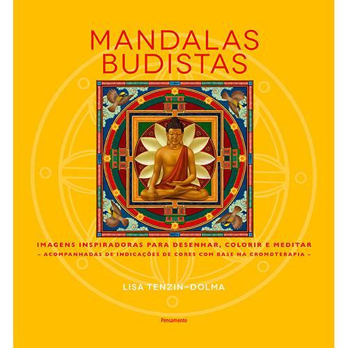 Livro para Colorir - Mandalas Budistas