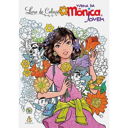 Livro para Colorir - Turma da Mônica Jovem