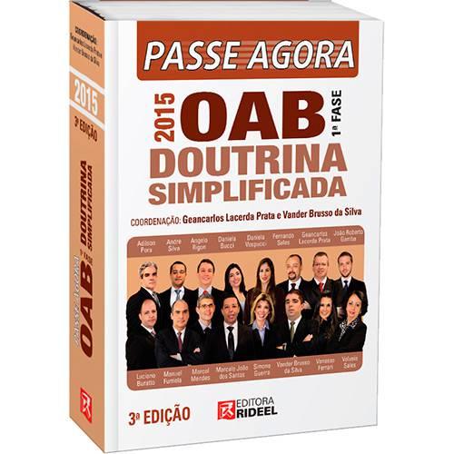Livro - Passe Agora na OAB 1ª Fase