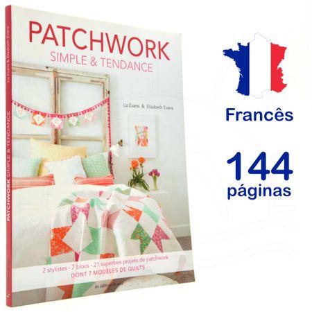 Livro Patchwork Simple & Tendance