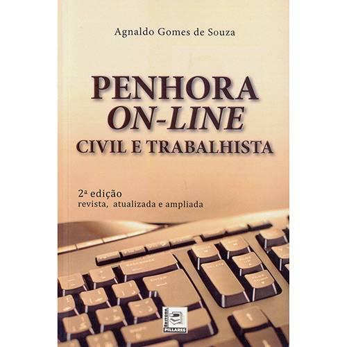 Livro - Penhora On-line: Civil e Trabalhista