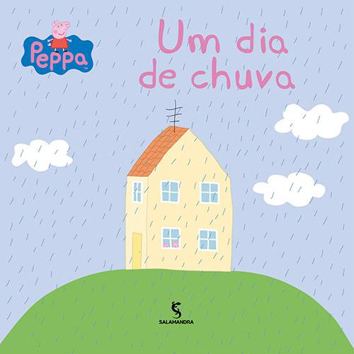 Livro - Peppa - um Dia de Chuva