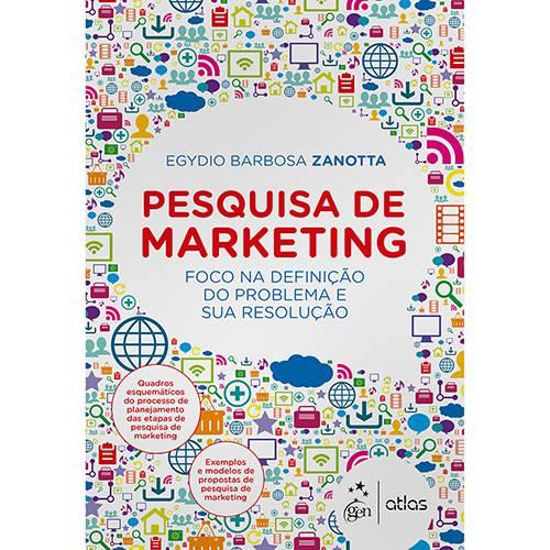 Livro - Pesquisa de Marketing