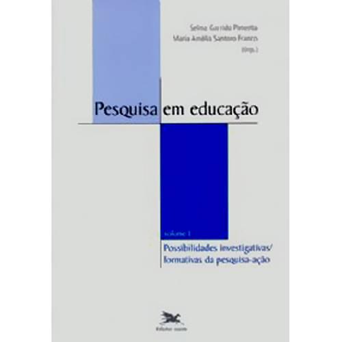 Livro - Pesquisa em Educaçao, V.1