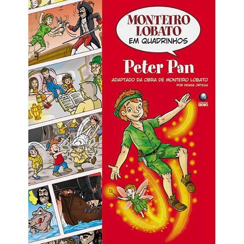 Livro - Peter Pan - Adaptado da Obra de Monteiro Lobato - Coleção Monteiro Lobato em Quadrinhos