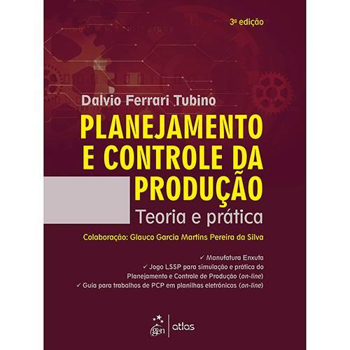 Livro - Planejamento e Controle da Produção - Teoria e Prática