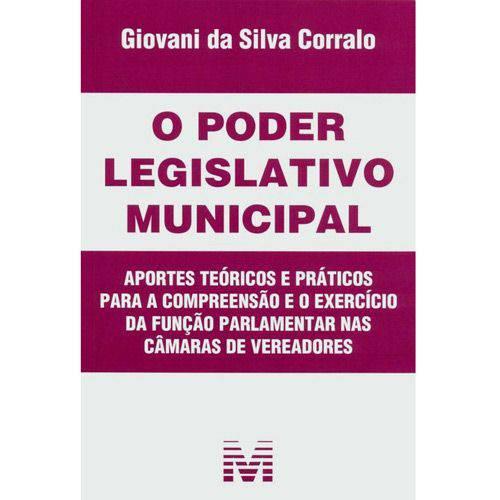 Livro - Poder Legislativo Municipal, o