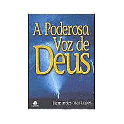 Livro - Poderosa Voz de Deus, a