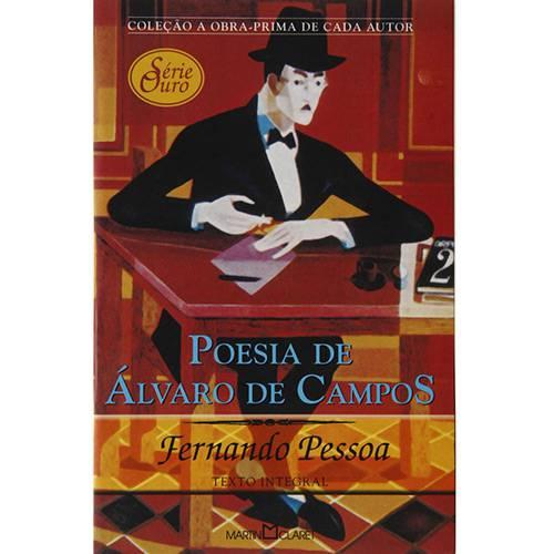 Livro - Poesia de Álvaro de Campos - Coleção a Obra-Prima de Cada Autor