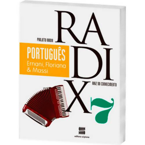 Livro - Português - 7º Ano - Coleção Projeto Radix