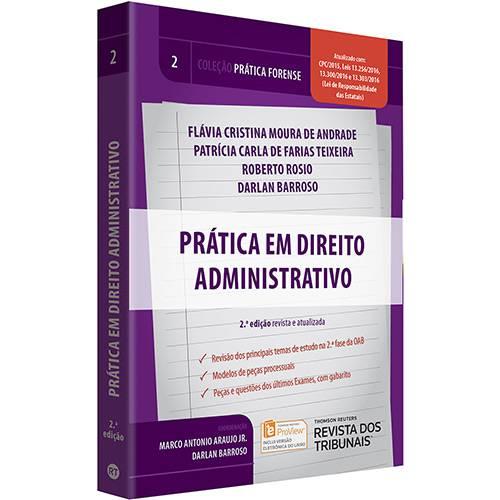 Livro - Prática Forense: Prática em Direito Administrativo