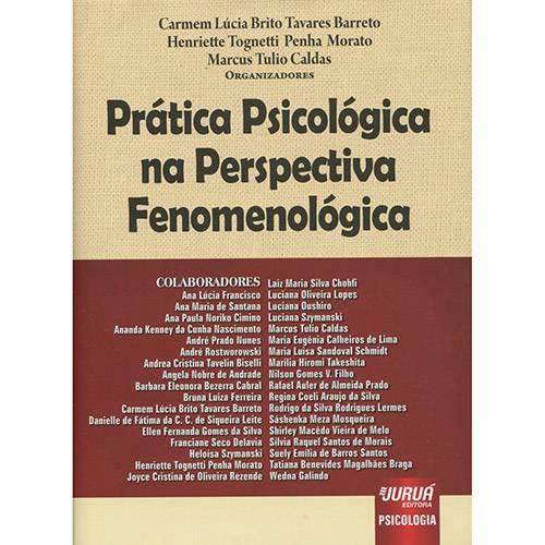 Livro - Prática Psicológica na Perspectiva Fenomenológica
