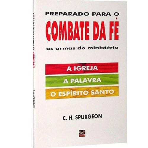 Livro - Preparado para o Combate da Fé