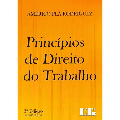 Livro - Princípios de Direito do Trabalho