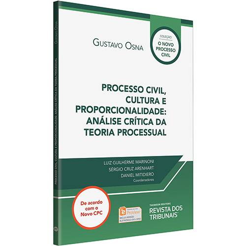 Livro - Processo Civil, Cultura e Proporcionalidade