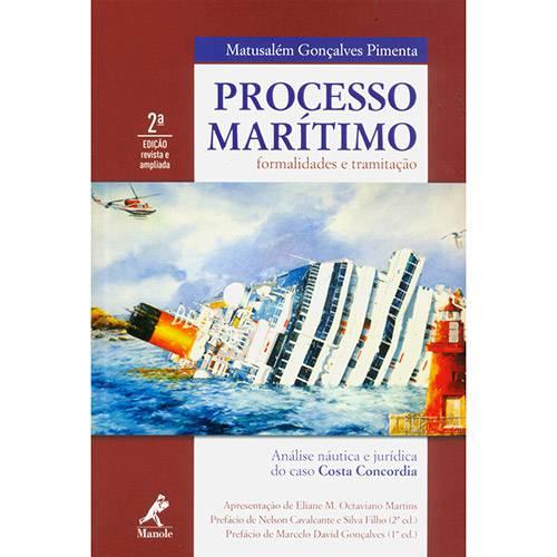 Livro - Processo Marítimo Formalidades e Tramitação