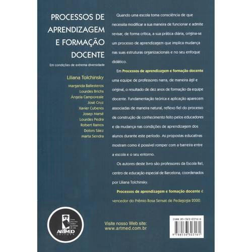 Livro - Processos de Aprendizagem e Formação Docente