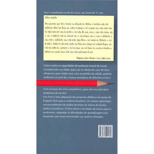 Livro - Produção Escrita e Dificuldades de Aprendizagem
