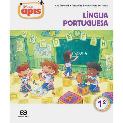 Livro - Projeto Ápis: Língua Portuguesa - 1º Ano