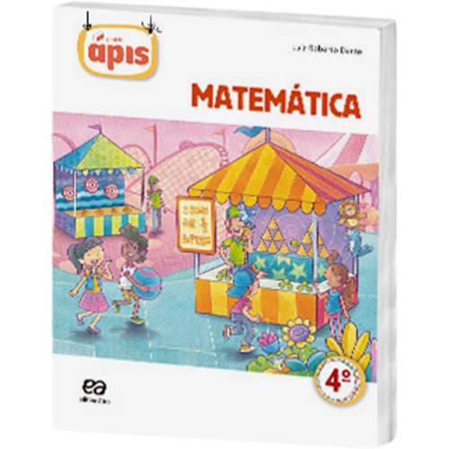 Livro - Projeto Ápis: Matemática - 4º Ano