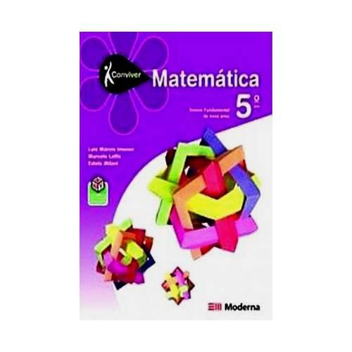 Livro - Projeto Conviver: Matemática - 5º Ano