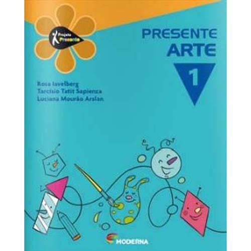 Livro - Projeto Presente - Arte - 1º Ano