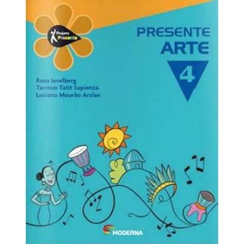 Livro - Projeto Presente - Arte - 4º Ano