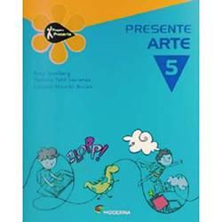 Livro - Projeto Presente - Arte - 5º Ano