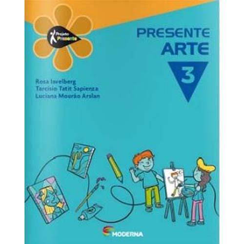 Livro - Projeto Presente - Arte - 3º Ano