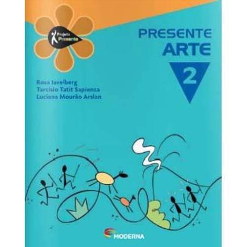 Livro - Projeto Presente - Arte - 2º Ano