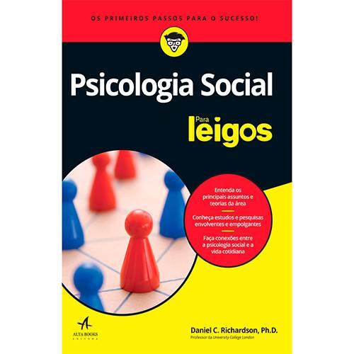 Livro - Psicologia Social para Leigos