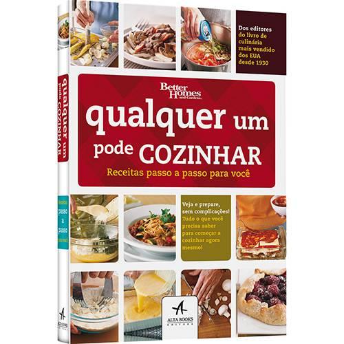 Livro - Qualquer um Pode Cozinhar