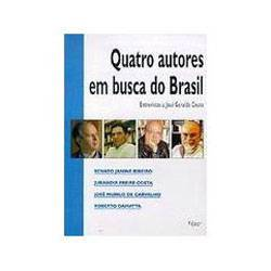 Livro - Quatro Autores em Busca do Brasil