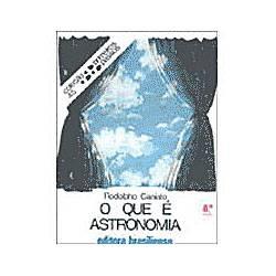 Livro - que e Astronomia, o