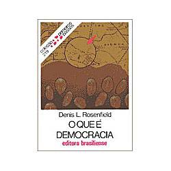 Livro - que e Democracia,O