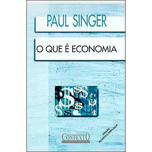 Livro - que e Economia, o