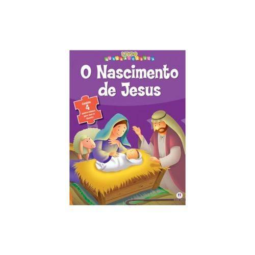 Livro Quebra Cabeca o Nascimento de Jesus