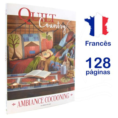 Livro Quilt Country - Ambiance Cocooning Nº 51