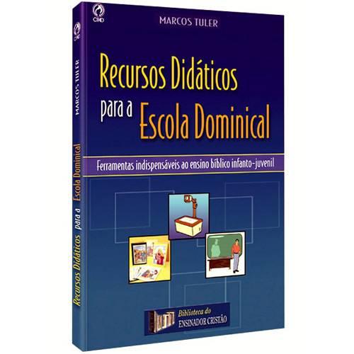 Livro - Recursos Didáticos para a Escola Dominical