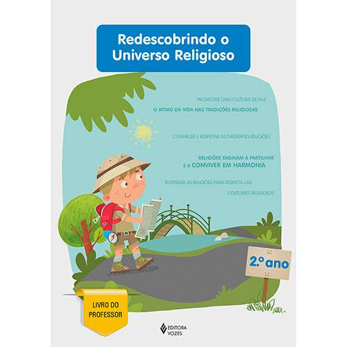 Livro - Redescobrindo o Universo Religioso - 2° Ano