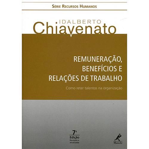 Livro - Remuneração, Benefícios e Relações de Trabalho