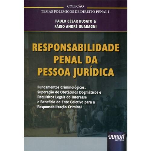 Livro - Responsabilidade Penal da Pessoa Jurídica