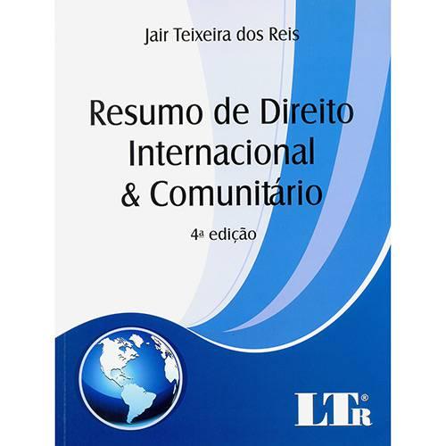 Livro - Resumo de Direito Internacional e Comunitário