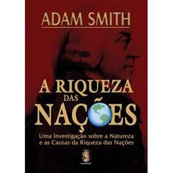 Livro - Riqueza das Nações, a - uma Investigação Sobre a Natureza